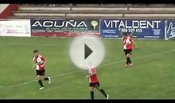 Spanish football player scores stunning solo goal.