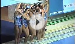 Spanish Team Synchronized Swimming