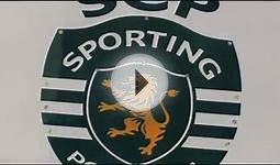 Sporting Portugal Soccer Team Flashing LED Image