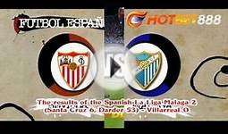 The results of the Spanish La Liga Malaga 2 Santa Cruz 6